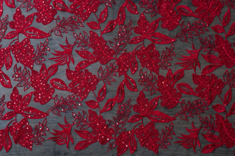 colored lace Red colored lace fabric red lace veil evening dress fabric wedding dress WL0178 bridal lace wedding dress lace fabric