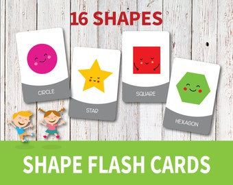 Flashcards for kids | Etsy