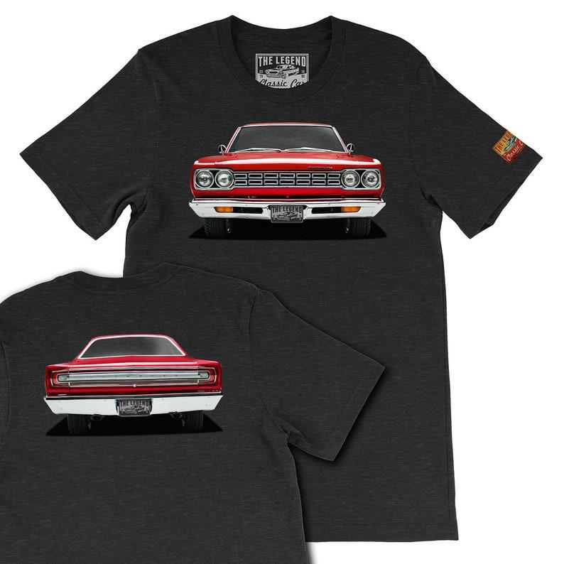 5411c9ead Custom Your Car Print T-shirts 1968 RoadRunner Legend | Etsy