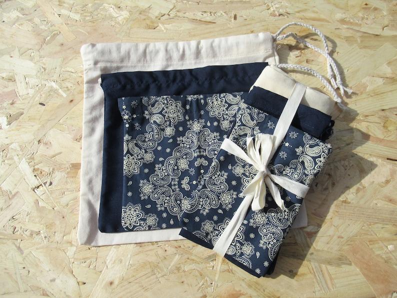100/% Cotton drawstring bags