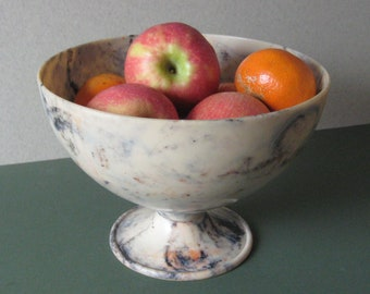Bandalasta fruit or rose bowl, beautiful mottled colour, 1920's design