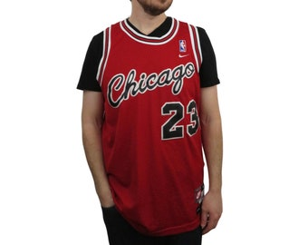 9a97a92a65ffea Nike Flight 8403 Mens Michael Jordan Chicago Bulls 1984 NBA Jersey Medium  Basketball Vintage Fall  04 Rookie Rewind Authentic Sewn Stitched