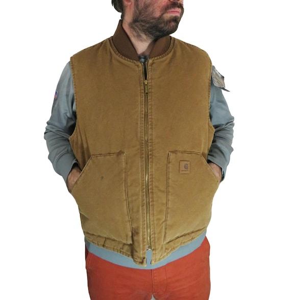 New Vintage Carhartt Men's Sandstone Duck Arctic D