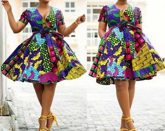 purchase newest coupon codes 2019 original Purple african dress   Etsy