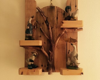 Driftwood Shelves Etsy