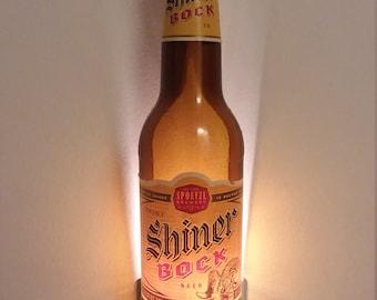 Shiner Bock Beer Bottle Nightlight