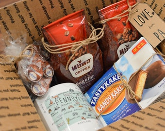 No-Gift-Basket Pennsylvania Wawa Coffee & Tastykake Pack - Gift for women - Gift for men - Gift for friend - Gift for boss - Gift for Dad