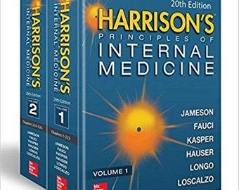 Harrison's Principles of Internal Medicine, Twentieth Edition (Vol.1 & Vol.2) ebook PDF