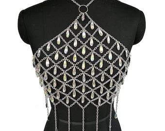 2f55d68793b3f3 Diamond chain bra