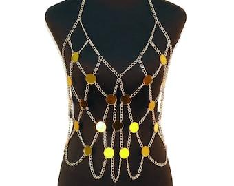 7e2a0dc30c68b Mesh chain bra