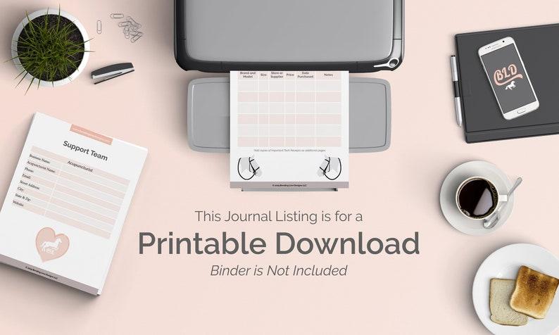 HORSE SHOW Journal  Equestrian Planner US Letter Size pdf image 0