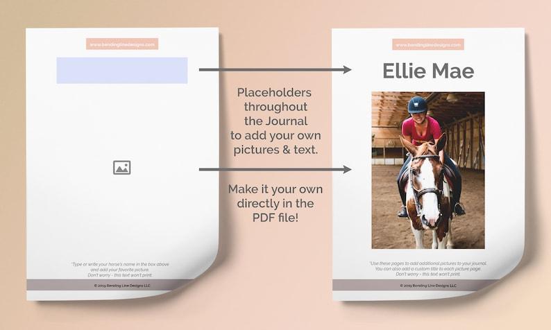BASIC EQ Journal  Horse Journal Equestrian Planner US image 0