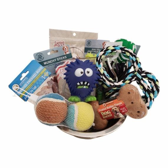 Little Monster Dog Gift Basket
