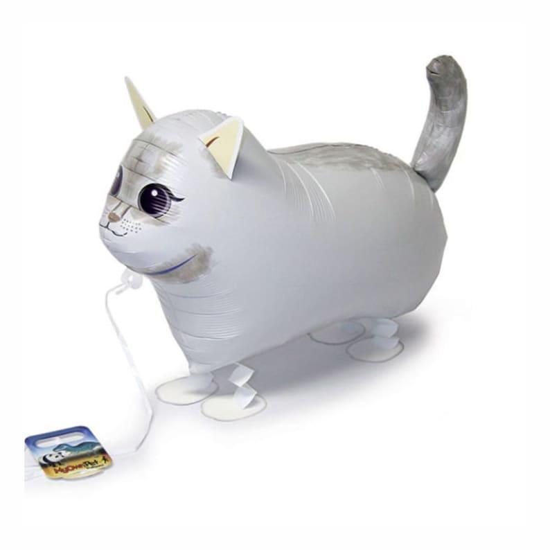 18\u2033PKG White Cat My Own Pet