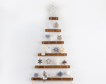 Hanging 1.5m Wall Christmas Tree|Handmade | Christmas Tree Decorations|Christmas Tree Decor| Wooden Christmas Tree| Eco Christmas Tree