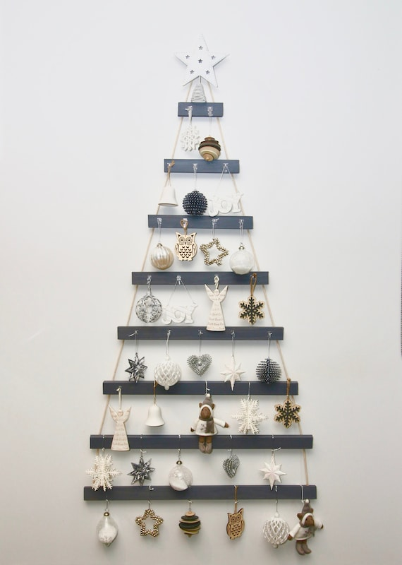 Charcoal Wall Christmas Tree