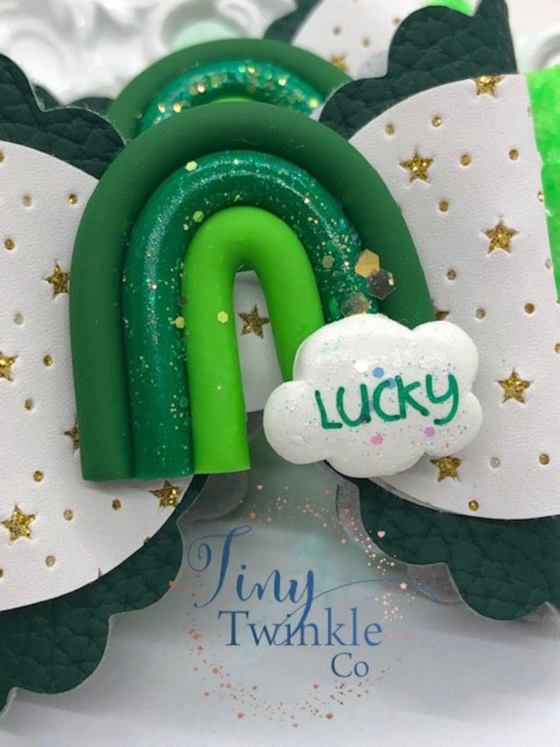 Girl/'s Hair Bow St Lucky You Patrick/'s Day Hair Bow Girl/'s Hair Clip
