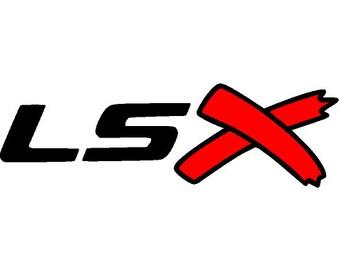 Lsx logo png,jpg,svg, cricut, silhouette file