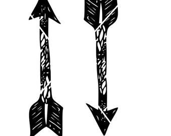 Distressed Arrows png,jpg,svg,cricut,silhouette file