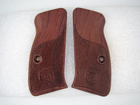 Shadow compact grips//grip set walnut wood CZ75 CZ85 CZP-01