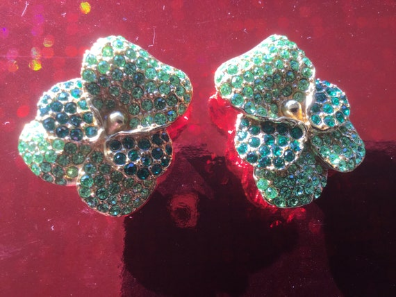 Kenzo earrings clips excellent condition