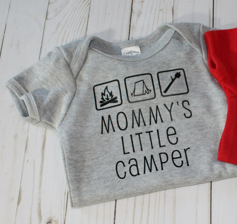 Handcrafted Children Infant Bodysuit with Mommy's Little image 0