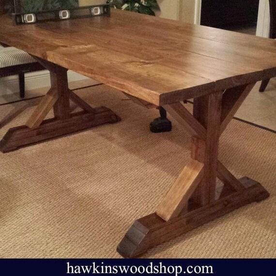Surprising Fancy X Farmhouse Dining Table Machost Co Dining Chair Design Ideas Machostcouk