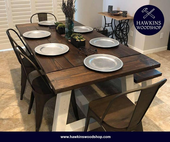 Cool Restoration Hardware Inspired 4X4 Truss Beam Rustic Farmhouse Dining Table Machost Co Dining Chair Design Ideas Machostcouk