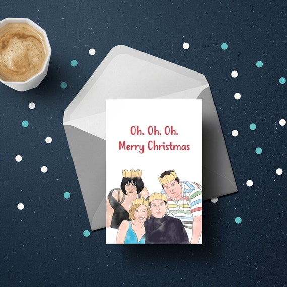 Gavin & Stacey Christmas Card | Merry Christmas |  Xmas Greeting Card For Her And Him | Funny Christmas Cards by Etsy