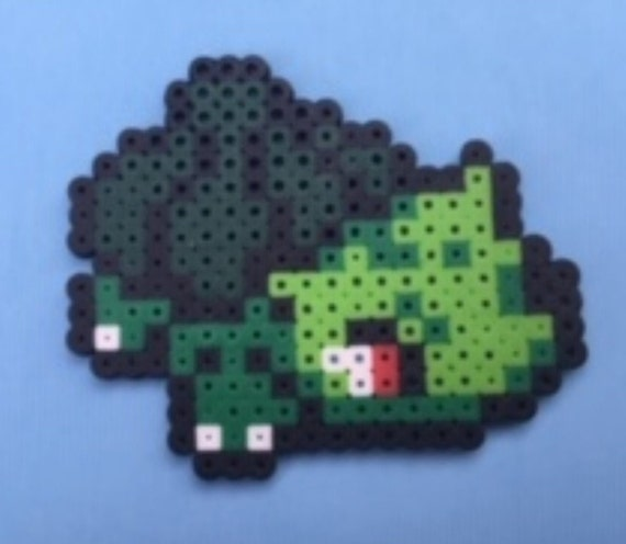 Shiny Bulbasaur Pokemon Gift Perler Sprite Etsy Shiny bulbasaur doesn't look like you think it looks, it changed in generation 6. etsy