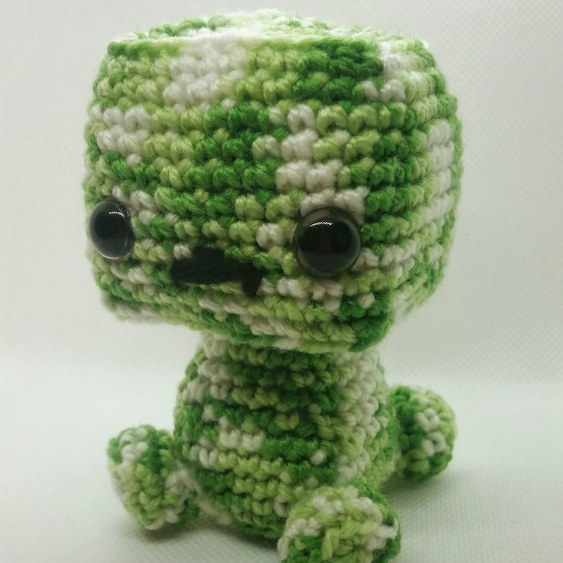 Minecraft Creeper Plush Toy Amigurumi boy Crochet softy toy | Etsy | 794x794