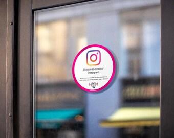 Outdoor Küche Instagram : Instagram namen aufkleber etsy