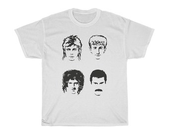 6e4d15b80b4 Queen band tshirt   Bohemian rhapsody tshirt   Freddie mercury tshirt    Unisex tshirt