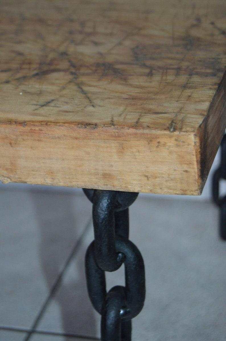 Industrial Loft Rustic Reclaimed wooden Coffee Table