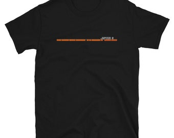 Jupiter 8 Stripe Inspired Classic Synth Short-Sleeve Unisex T-Shirt