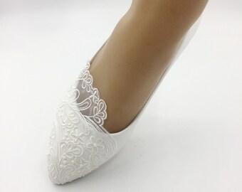 d7a820350f65 Lace flower lady shoes