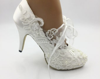 a21f5196b70 Lady Lace flower shoes