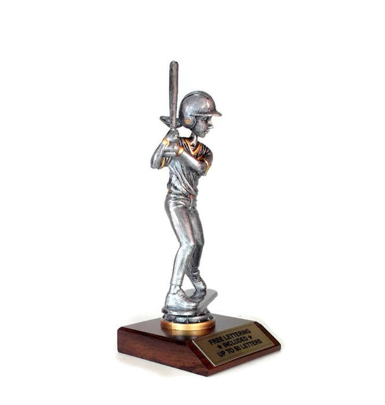 Santa Claus Bobble Head Trophy with 3 Lines of Custom Text