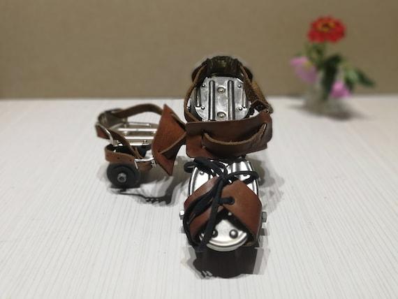 Roller skates - Vintage childish roller skates - … - image 8