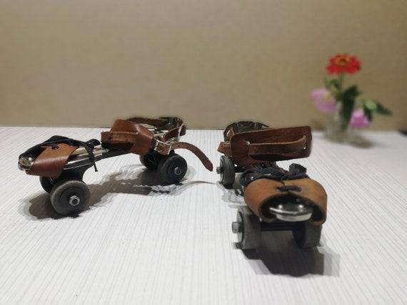 Roller skates - Vintage childish roller skates - … - image 9