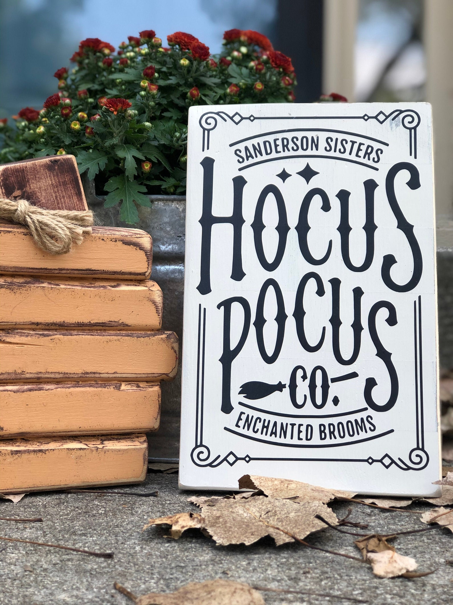 Halloween Hocus Pocus Home Decor Signs
