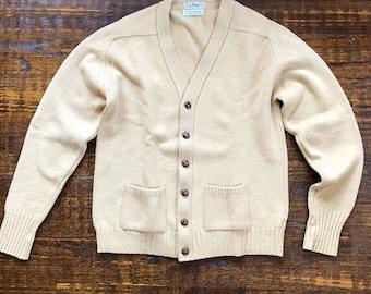 e496cb95f26 1960s L.L. Bean Knit Cardigan
