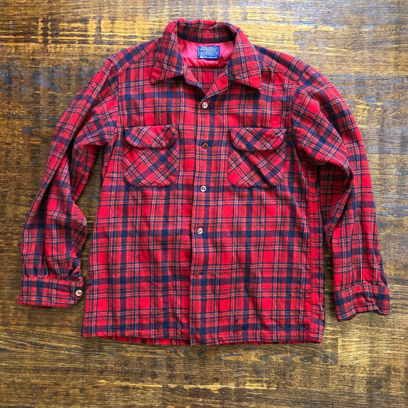 1960s Pendleton Board Shirt