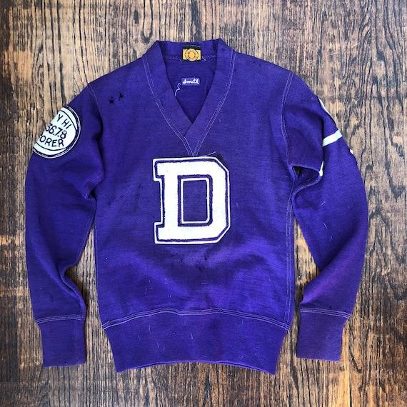 1930's High-school Varsity Sweater