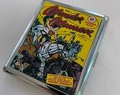 Wonder Woman Sensation Comics 1 Cigarette Case Business Card ID Holder Wallet