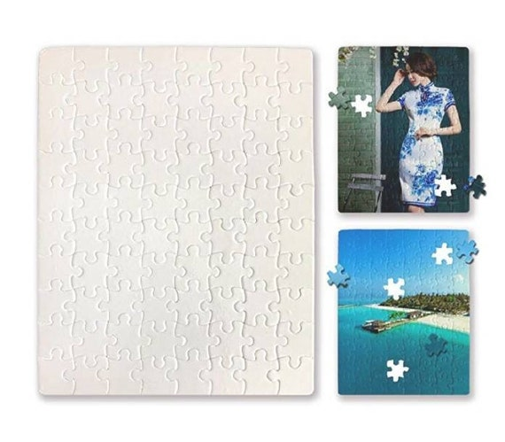 logo **Free Gift Box** Custom Printed Puzzles 48pc Add Your Own Image Photo