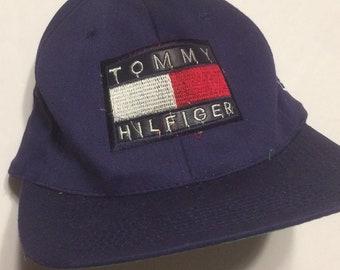 85f1fe37 Custom Snapback With Vintage Tommy Hilfiger Patch