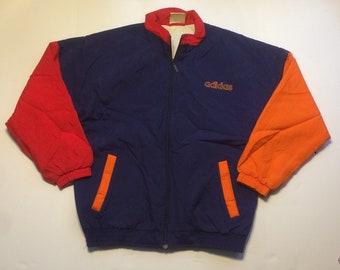 45f3ee23ad0f6 Adidas puffer jacket | Etsy
