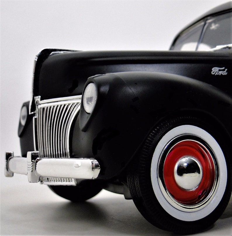 1930s Ford 1 Pickup Sport Truck F150 T Scale Diecast Model Car Vintage Midget Promo Antique 24 Auto 18 Automobile 12 Tether Art 1940s 1940