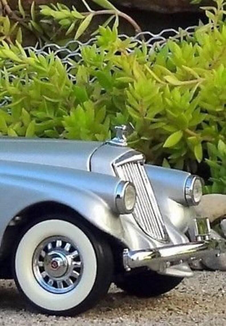 Vintage Concept Dream Car InspiredBy Cadillac 1 Metal Diecast Scale Rare Model 25 Promo 24 Antique 18 Classic 12 Art Deco 1930 Mid Century